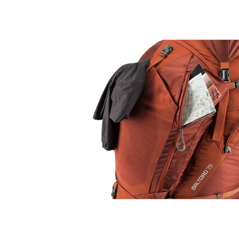 Gregory Baltoro 75L backpack pockets for accessories