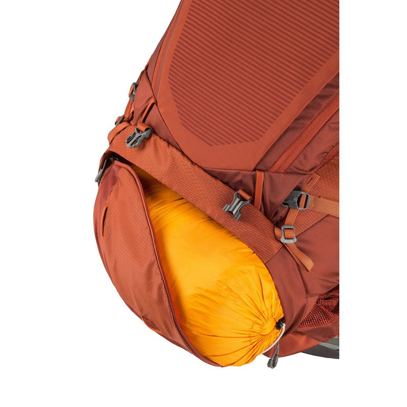 Gregory Baltoro 75L backpack sleeping bag compartment