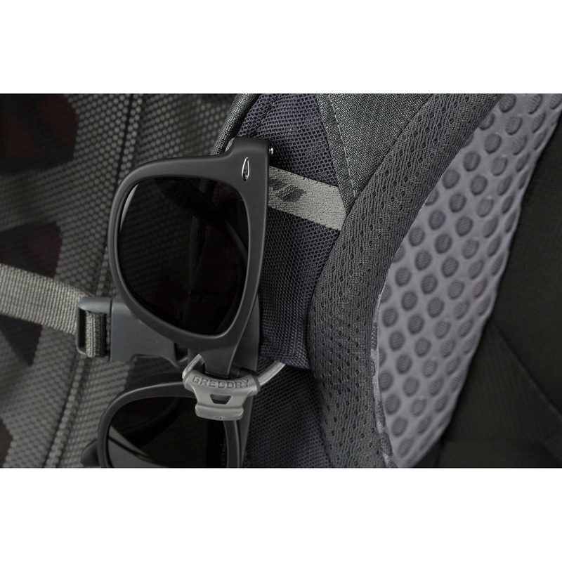 Gregory Baltoro 75L backpack sun glasses holder