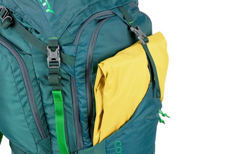 Kelty Coyote 80 Backpack review exterior stuff pocket
