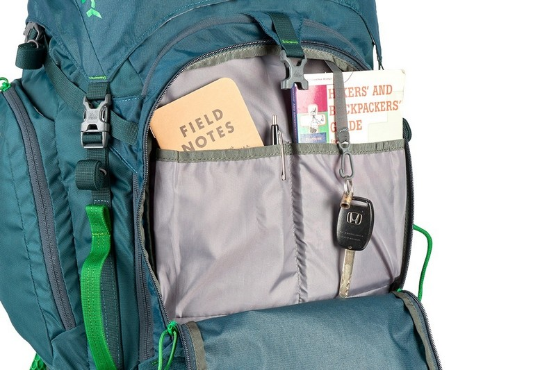 Kelty Coyote 80 Backpack review exterior pockets