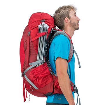 Osprey Atmos 65L Backpack Compression straps