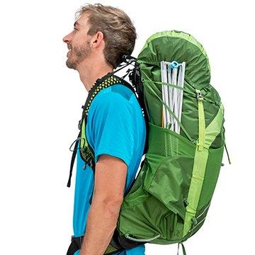 Osprey exos 58 backpack compression straps