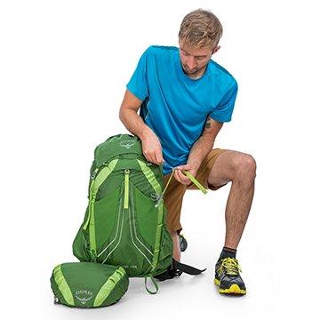 Osprey exos 58 backpack fliptop lid