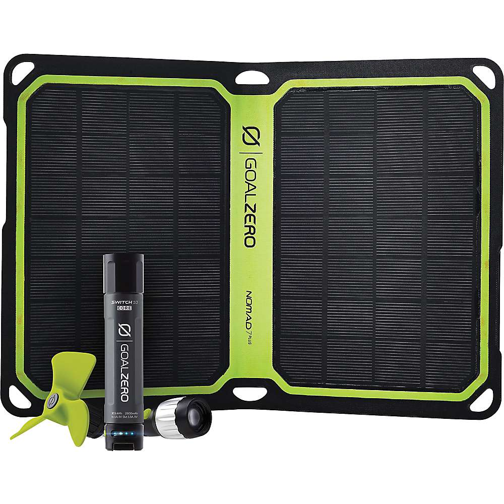 Goal Zero Switch 10 Core USB Solar Kit
