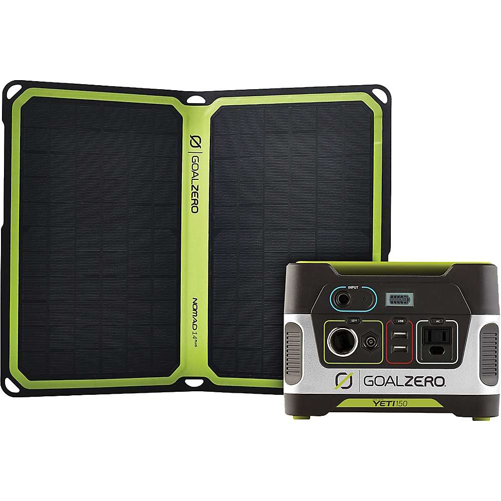 Goal Zero Yeti 150 + Nomad 14 Plus Kit