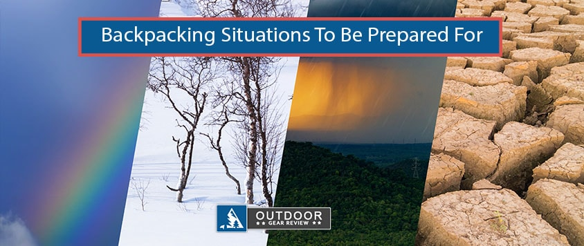 backpacking situations to be prepared for
